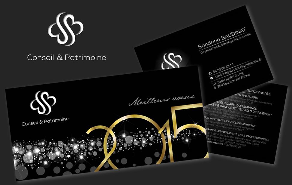 SB Conseil Patrimoine Logo Supports De Communication
